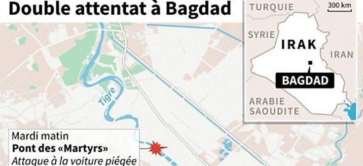 Plus de 40 morts dans trois attentats suicide en Irak