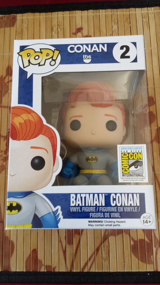 "SDCC 2015 Exclusive Funko Pop! ""Batman Conan"" #TBS #Teamcoco #Conan #Funko"