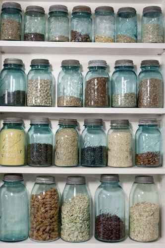 Kitchen Design Classics - Mason and Ball Jars: Used to store preserves and pickles, these jars are a simple and cheap alternative to Tupperware. Use them to store dry goods, sort kitchen tools, or hold flowers.