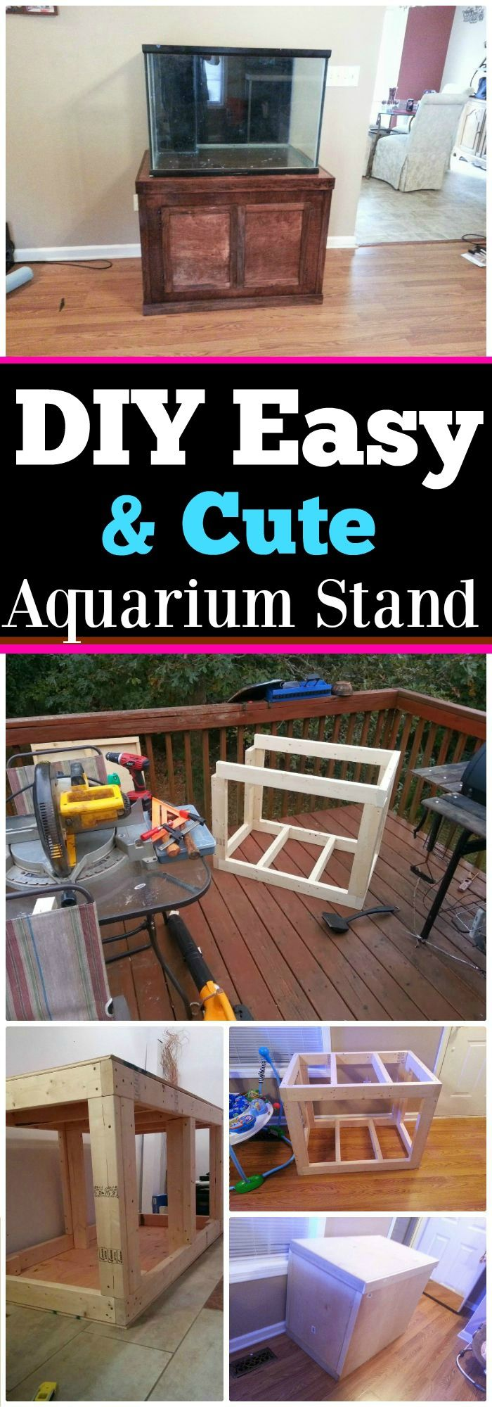 These DIY aquarium stand plans are only for you, some are to make at home, and some are made with repurposed furniture but will serve as the best alternatives!