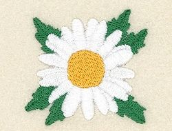 Daisy Single - 4x4 | Floral - Flowers | Machine Embroidery Designs | SWAKembroidery.com Starbird Stock Designs