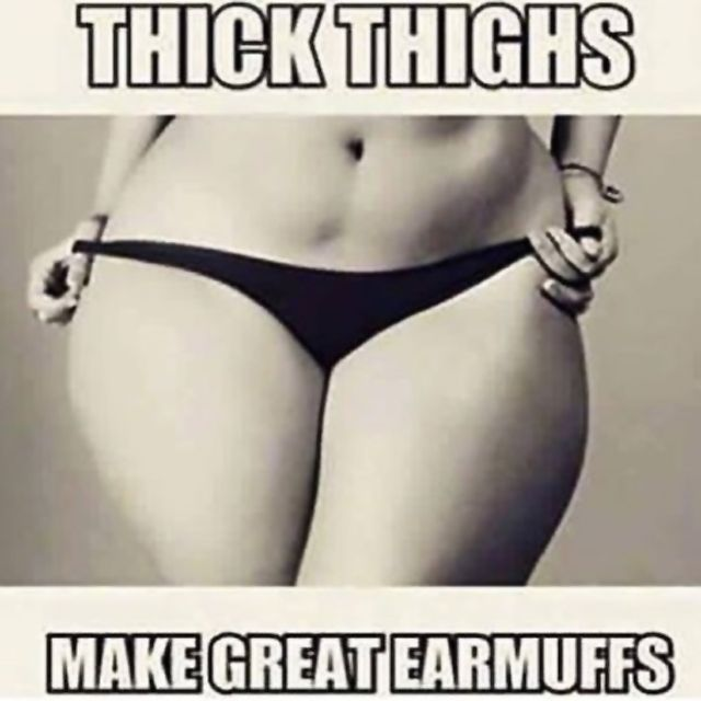 love thick thighs ❤❤