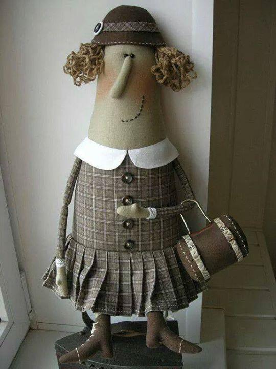 boneca italiana simpaticona