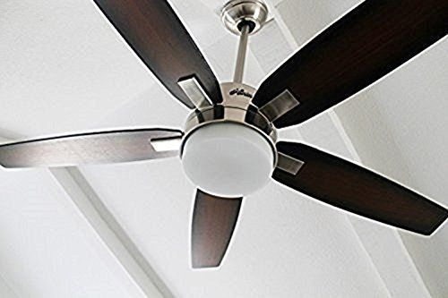 Hunter 59039 Windemere 54 in. Indoor Ceiling Fan with Light and Remote - Brushed Nickel    Antique Ceiling Fans  Belt Driven Ceiling Fan  Ceiling Fan Mounting Bracket  Nautical Ceiling Fans  Craftmade Fans  Hunter Ceiling Fan Parts  Harbor Breeze Ceiling Fan Parts  Ceiling Vents  Ceiling Fan Reviews  Hunter Douglas Ceiling Fans  Low Profile Ceiling Fan With Light  Ceiling Fan Repair  Fanimation Ceiling Fans