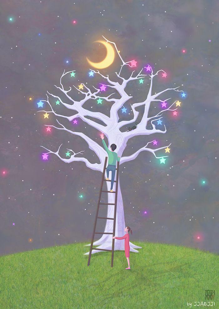 별도 달도 따줄게(Pick a star and moon)