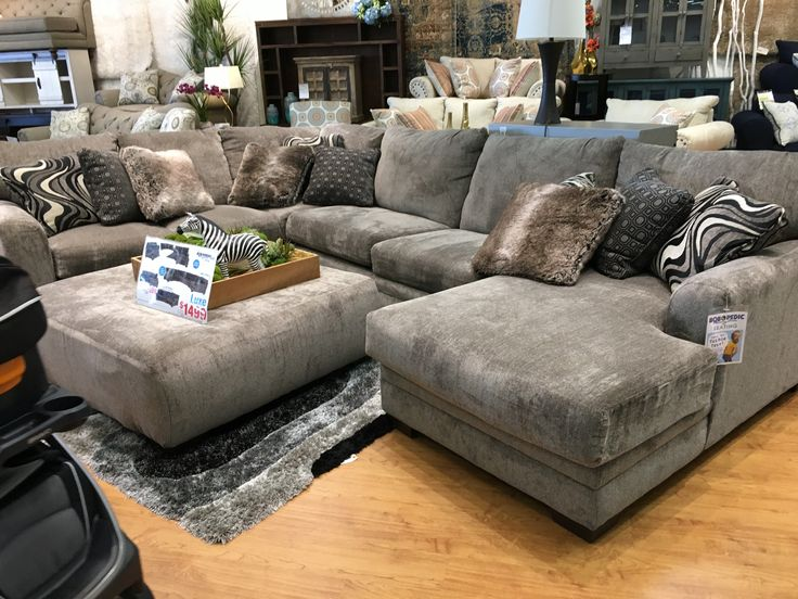 Bobs discount couch for basement