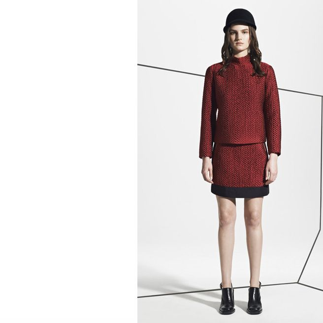 Tartan, Quilting, Turtlenecks, and More Pre-Fall 2013 Trends