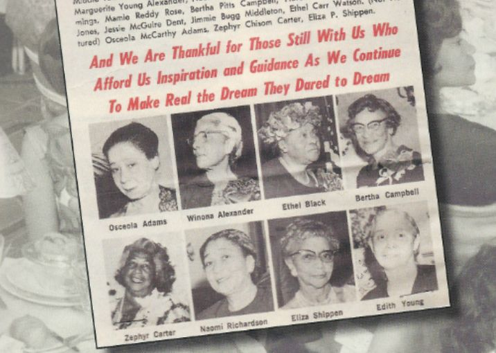 Eight of the 22 Founders of Delta Sigma Theta Sorority, Inc.