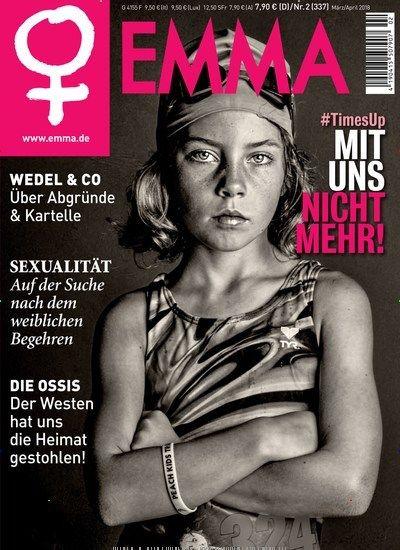 """EMMA_Magazin: In #EMMA geht es um die #MeToo-Debatte und die zunehmende Solidarität von #Männern. In ihrem Editorial analysiert #Schwarzer den Zusammenhang von #Sexualität, #Gewalt und #Macht.  Das Dossier handelt von der """"#DDR, meiner Heimat"""" und den Gründen der Wut der Ost-Männer.  Die #EMMA gibt's übrigens auch als #epaper zum online Bestellen und sofort Loslesen. #MeToo #TimesUp #Feminism #MakeFeminismGreatAgain"""