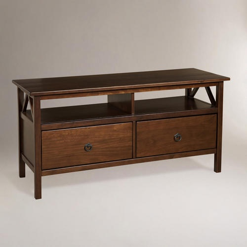 One of my favorite discoveries at WorldMarket.com: Marshall TV Stand