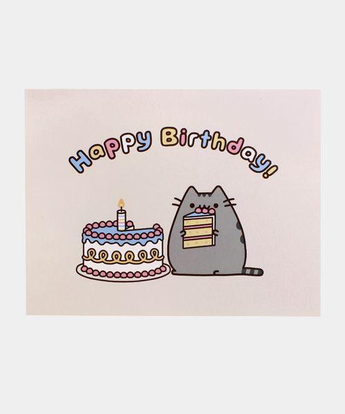 Pusheen Birthday card