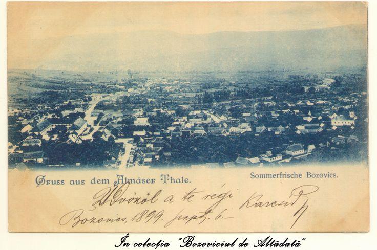"""Cea mai veche piesa din colectia """"Bozoviciul de Altadata"""". A circulat in anul 1899, la Budapesta. #descoperabozovici (Bozovici. old postcards. vintage postcards)"""