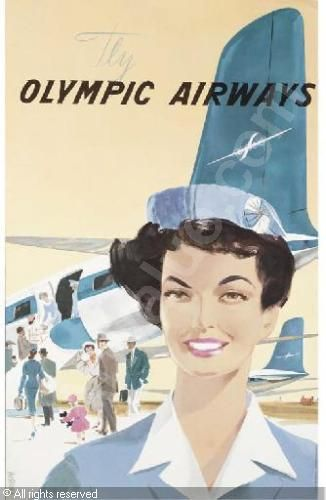 Olympic Airways poster