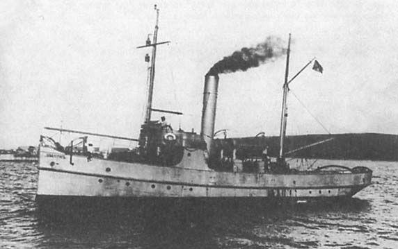 """Tipo de dragaminas """"Albatros"""" - una serie de recipientes de barrido de construcción especial en la Armada Imperial Rusa. Representantes de la serie para construir dos barcos rastreadores de este tipo - """"Albatros"""" y """"Cormorán""""."""