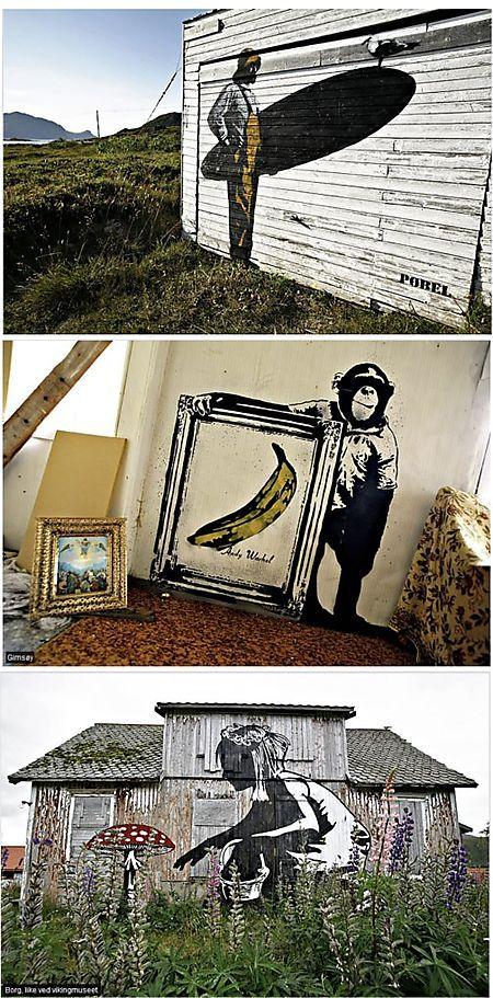Street artists Dolk & Pobel - Norway