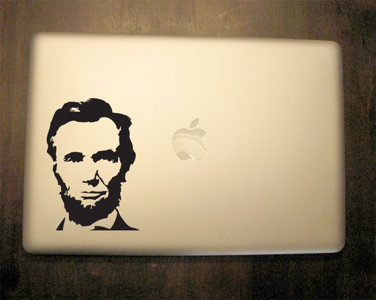 Abraham Lincoln Decal - Vinyl Sticker, For Car, Window,  Laptop, Wall by urbandecal on Etsy https://www.etsy.com/listing/71242653/abraham-lincoln-decal-vinyl-sticker-for