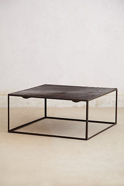 """Unbelievable price for this 40"""" square table!!!! Perfect as a low work surface between the chesterfield couches...  http://www.anthropologie.com/anthro/product/shopsale-home/27256478.jsp"""