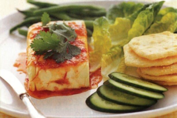 Thai-flavoured cream cheese
