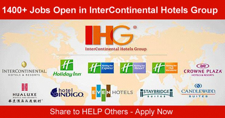 IHG Careers: IHG is one of the worlds leading hotel companies with nearly 5200 hotels worldwide. IHG has a broad family of hotel brands which have a rich heritage and are well known and loved by millions of consumers.  [post_ads]  IHG is one of the worlds leading hotel companies  over 4600 hotels in nearly 100 territories worldwide.Everyone at IHG is aligned behind one clear goal; to deliver Great Hotels Guests Love. We may be nine different brands but wherever you join us and no matter how…