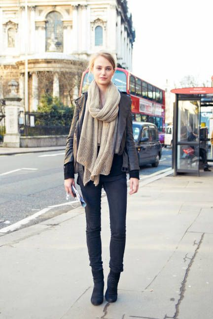 Layering in London #streetstyle