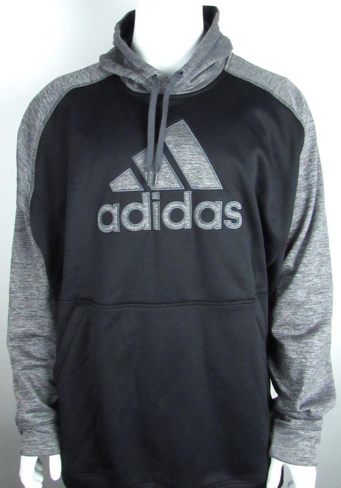 Blackamp; Gray Nwt Sweatshirt Hooded New Adidas Hoodie Mens Logo 5xl PkiXZu