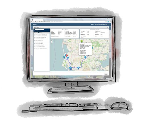 Transvision Web Portal - Visibility of logistics operations throughout an organisation.  Transvision Web Portal is a web based extension of planning system – Fleet Planner. It is a specially designed web page which gathers information from a multitude of sources and displays it in a uniform way.