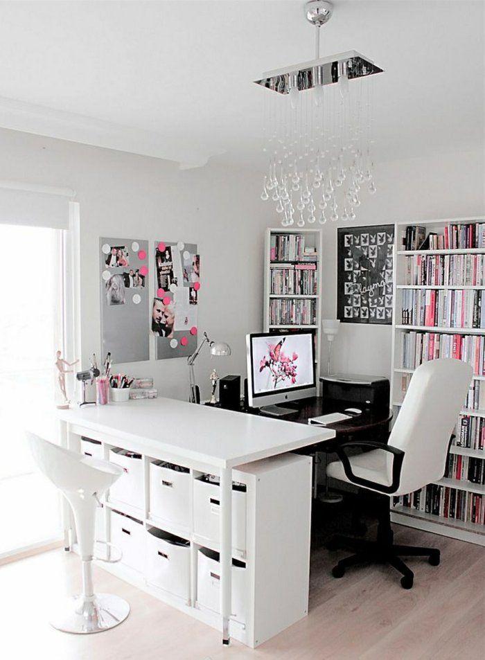 Die 25+ Besten Ideen Zu Arbeitszimmer Auf Pinterest | Organisation ... Schlafzimmer Einrichten Mit Schreibtisch