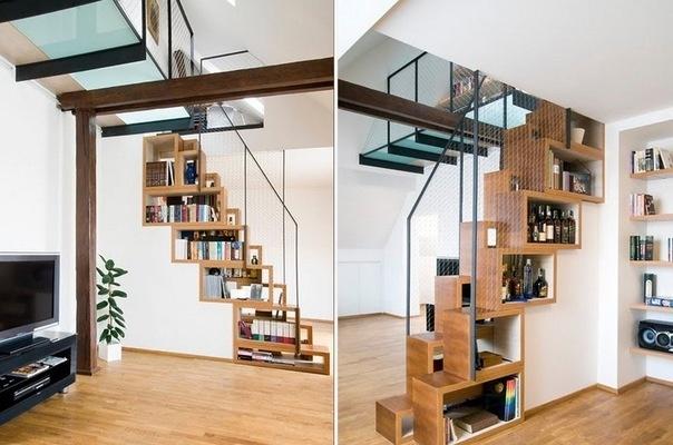 лестница – книжная полка