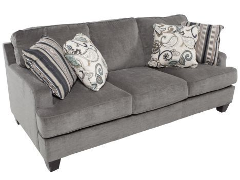 Ashley Yvette Steel Sofa Steel Sofa Living Room