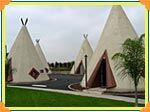 Wigwam Motel in San Bernardino, California. Who doesn't want to spend the night in a wigwam
