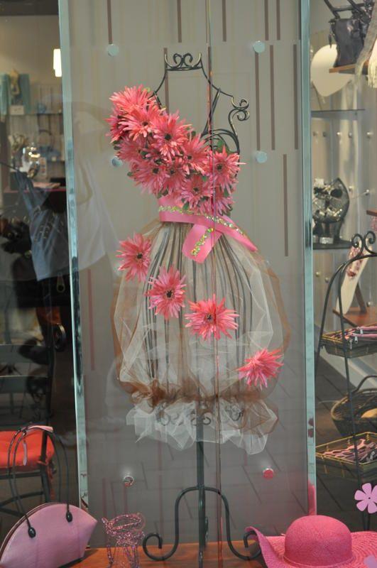 Spring Time dress form