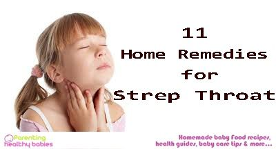 Strep throat can be really painstaking for kids and make them extremely cranky. Strep throat usually occurs because of viral or bacterial infection. Although the problem requires an antibiotic medical treatment, you can also use these certain effective home remedies to provide relief from symptoms of strep throat!!