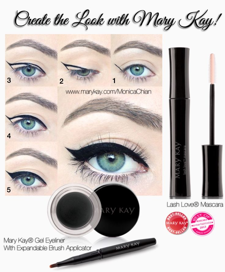 Mary Kay® Gel Eyeliner With Expandable Brush Applicator is an easy-to-apply, versatile eyeliner that lets you create beautiful fine lines for a daytime look or intensify with ease for a more dramatic look. Finish and ❤️ love your lashes with Lash Love® Mascara that defines, defends and delivers four times the volume while looking naturally flawless, soft and healthy. The flexible, sculpted brush separates and coats lashes. www.marykay.com/aphillips0315