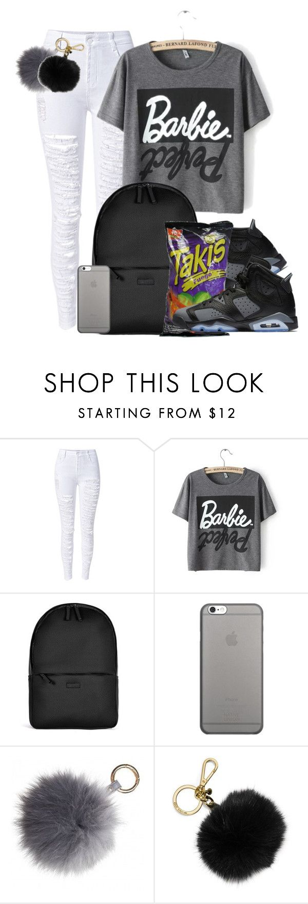 """""""Dope Swag 2016"""" by bxby-girl-rielle ❤ liked on Polyvore featuring WithChic, Rains, Native Union and MICHAEL Michael Kors"""