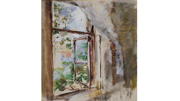 """Валентин Серов. """"Окно"""", 1887 год"""