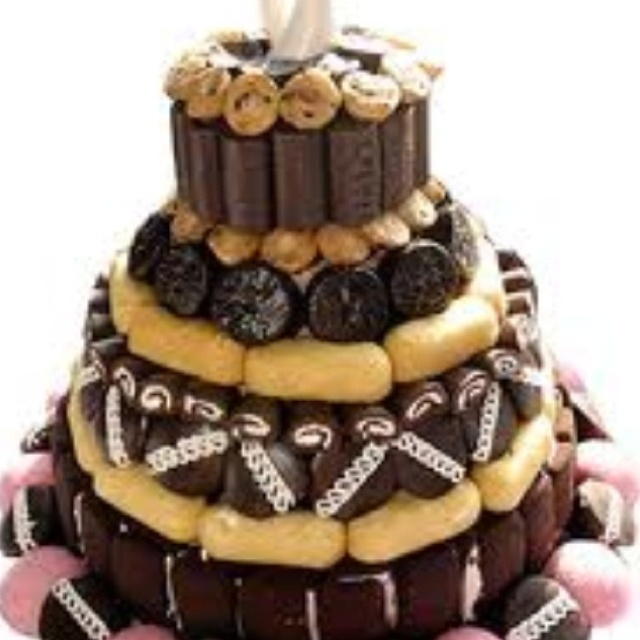 Little Debbie Tower Rebecca Visnick Can You Imagine How Many Swiss Rolls Could Use