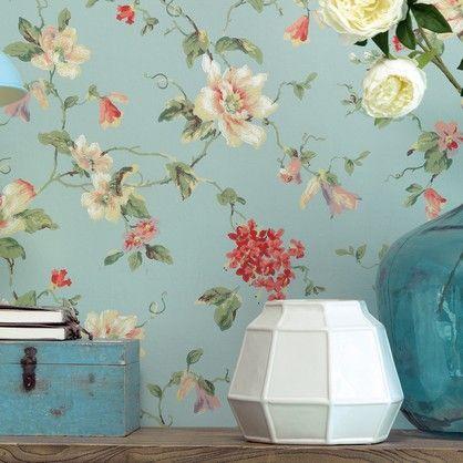 Lavender Dream 322326 - blomstret tapet