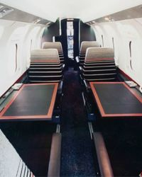 Cigar: As promised, here are some images of the plane designed by Pierre Cardin...[design blog]