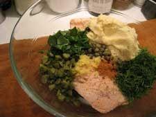 Recipe: Salmon and Caper Fishcakes