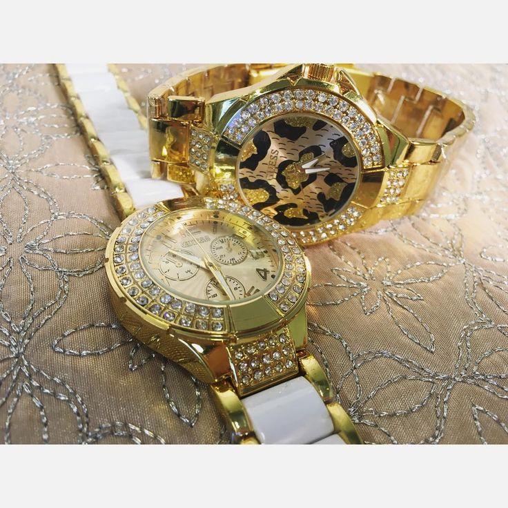 Mówią, że szczęśliwi czasu nie liczą... Jednak kiedy szczęście daje sam zegarek ta mądrość traci na wiarygodności #deluxo#deluxostore#clock#guess