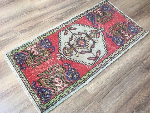 Small Anatolia Vintage Rug