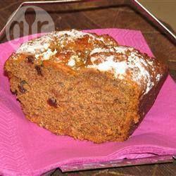 Photo recette : Cake aux kakis