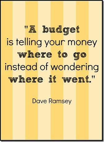 - Dave Ramsey