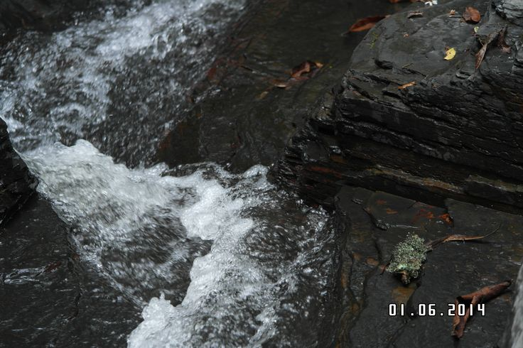 obsidiana, erosion laminar