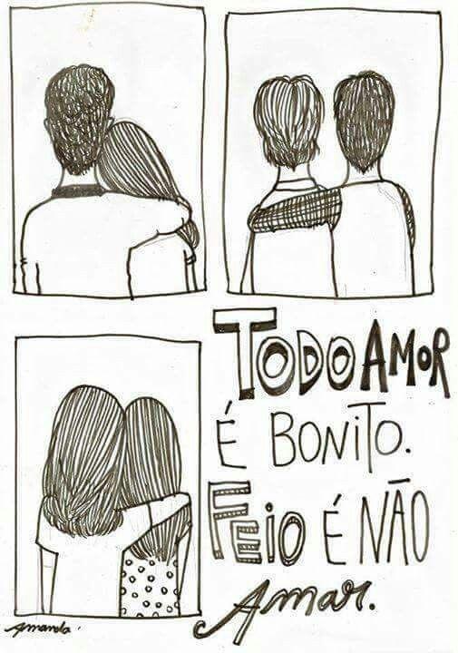 Mais amor por favor!