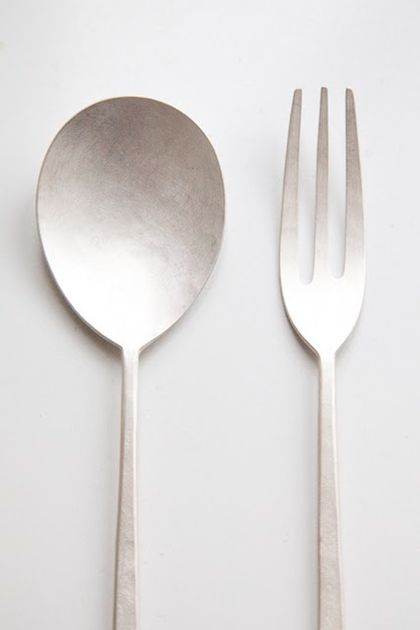 cutlery by Yuki Sakano.  