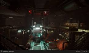 Image result for doom 2016 environment art