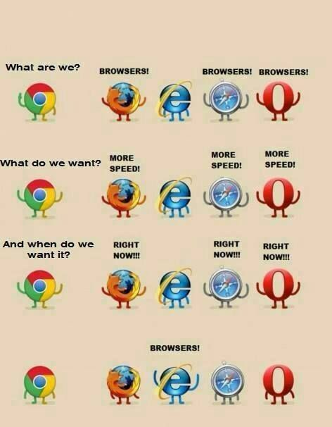 We are browsers! :)