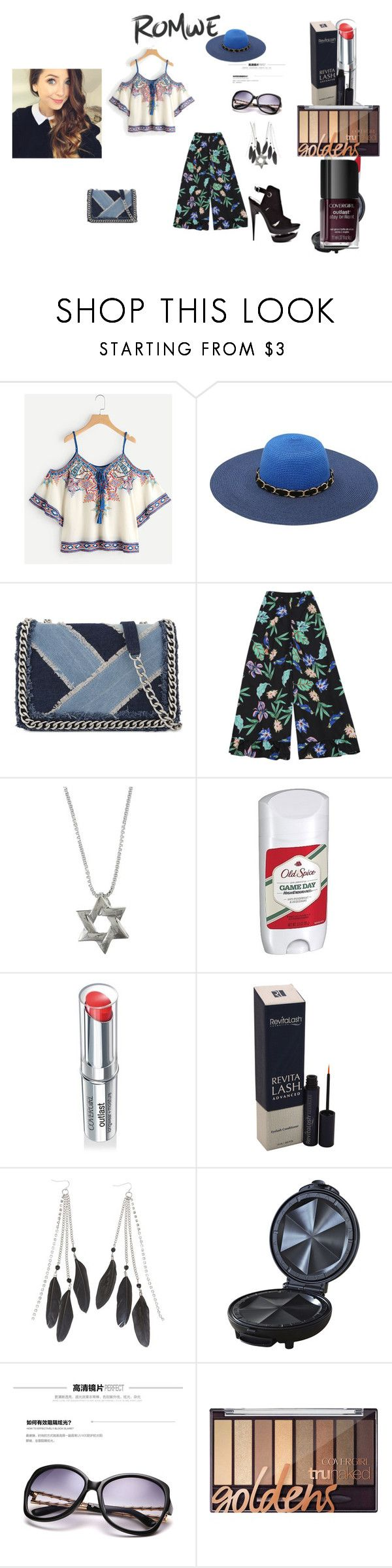 """Romwe win $30 coupon contest CLIX"" by naomig-dix ❤ liked on Polyvore featuring M&Co, ALDO, Old Spice, COVERGIRL, Charlotte Russe, Imusa, KOON and Nemesis"