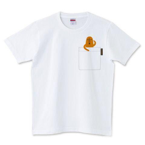 HANIWA in pocket Tee | デザインTシャツ通販 T-SHIRTS TRINITY(Tシャツトリニティ)